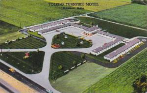 Ohio Maumee Toledo TurnPike Motel 1960