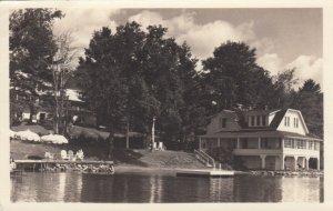 RP: LAKE PLACID , New York , PU-1952 ; Mirror Lake Inn