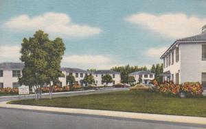 Florida Daytona Beach Halifax Apartments Botefuhr Avenue Curteich