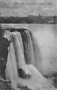 Horseshoe Falls from goat island Niagara Falls Unused