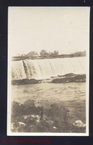 RPPC MAMMOTH SPRING ARKANSAS WATERFALL VINTAGE REAL PHOTO POSTCARD AZO