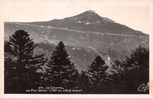France Le Cantal, Le Puy Mary Cote Ouest, West Coast Forest Panorama