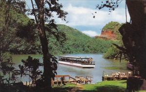 Hawaii Kauai This Beautiful View Shows Smith's Motor Boat Landing At Fern Grotto