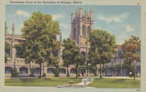 Illinois Chicago Hutchinson Court Of The University Of Chicago 1943