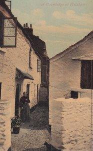BRIXHAM, Devon, England, 1900-1910's; A Courtledge At Brixham