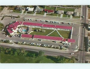 Unused Pre-1980 FLAMINGO MOTEL & RESTAURANT Idaho Falls Idaho ID u4667