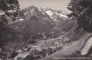 Switzerland Champery Dents de Bonaveaux et Dents Blanches 1966 Photo