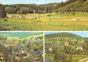 GG12625 Manebach Thueringen Campingplatz Gesamtansicht Town