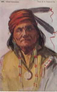 Indian Chief Geronimo