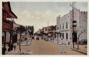German East Africa Tanzania, Dar es Salaam, Acacia Avenue, Auto Cars