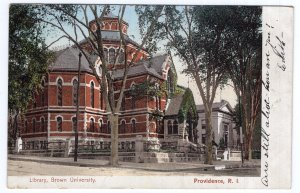 Providence, R.I., Library, Brown University