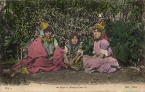 CPA Maroc Jeunes Maureques (22159)