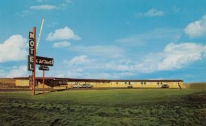 SWIFT CURRENT , Saskatchewan , Canada , 50-60s : Caravel Motel
