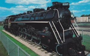 Historical Steam Locomotive,  National Station,  Guelph,  Ontario,  Canada,  ...