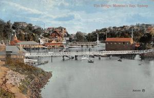 Australia Sydney, The Bridge, Mosman's Bay, ship