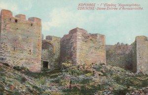 CORINTHE , Greece , 1900-10s ; 3eme Entree d'Acrocorinthe