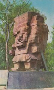 Tlaloc, God of the Rain, Museum of History, MEXICO D.F. Mexico, 40-60's