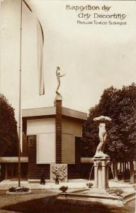 RP, Pavillon Tcheco- Slovaque, Exposition Des Arts Decoratifs, 1920-1940s