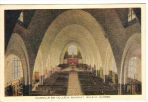 Chapelle du College Bourget , RIGAUD , Quebec , Canada , 30-40s
