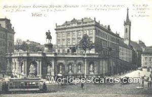 Austria Wien - Vienna Albrechts Brunnen Erzherzog Albrecth Monumnet