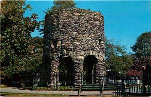 Newport, Rhode Island, RI, The Old Stone Mill, Chrome Vintage Postcard c3993