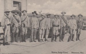 MATAMOROS , Mexico , 00-10s ; Mexican Bridge Guard
