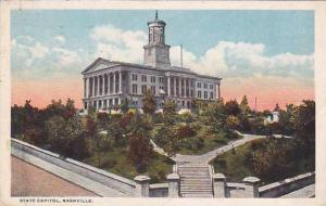 Tennesse Nashville State Capitol 1917