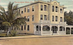 MIAMI FLORIDA~THE AVONDALE HOTEL~SOUTHERN ARCHITECTURE POSTCARD