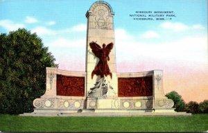 Mississippi Vicksburg Missouri Monument Vicksburg National Military Park