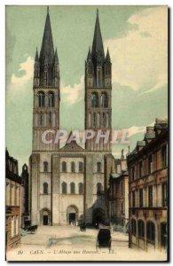 Old Postcard Caen L Abbaye aux Hommes