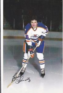 Edmonton Oilers Ice Hockey Player , EDMONTON , Alberta , Canada , 70-80s ; Bo...