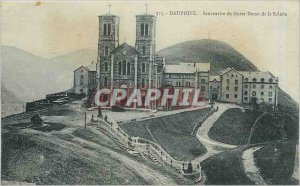 Old Postcard Dauphine Shrine of Our Lady of La Salette