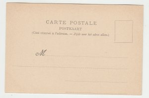 P2202, old postcard ostende - laitieres flamandes belgium dogs & milk wagon