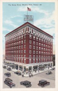 WICHITA FALLS, Texas, 1900-1910's; The Kemp Hotel