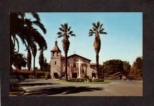 CA Mission Santa Clara De Asis Jesuit Franciscan Fathers California Postcard
