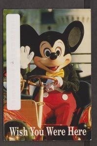 Mickey Mouse Waves Hello, Disney Collection - 1993 Used