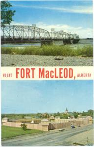 Visit Fort MacLeod, Alberta, Canada, Chrome