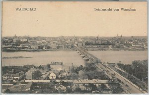 66362 - Polen POLAND - Ansichtskarten  VINTAGE POSTCARD -  WARSAW  Warszawa