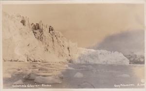 Alaska Columbia Glacier Real Photo
