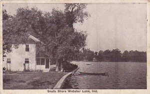 Indiana Auburn South Shore Webster Lake 1929