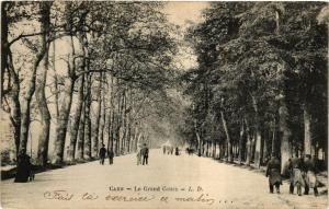 CPA CAEN - Le Grand Cours (515783)