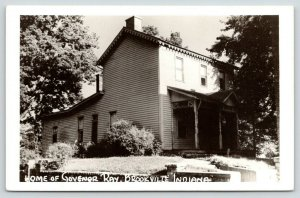 Brookville Indiana~Governor Ray Home~1950s RPPC