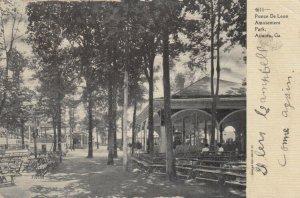 ATLANTA , Georgia, 1907 ; Ponce De Leon Amusement Park