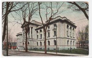 Court House Lowell Massachusetts 1909 postcard