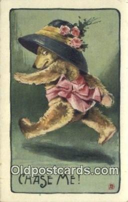 Chase Me, Bear Postcard Bears, tragen postkarten, sopportare cartoline, sopor...