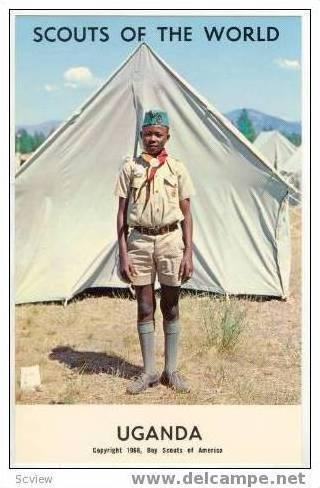 Boy Scouts of the World, UGANDA SCOUTS, 1968