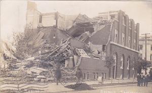 RP: Tornado damage , YMCA , REGINA , Saskatchewan , Canada , PU-1912