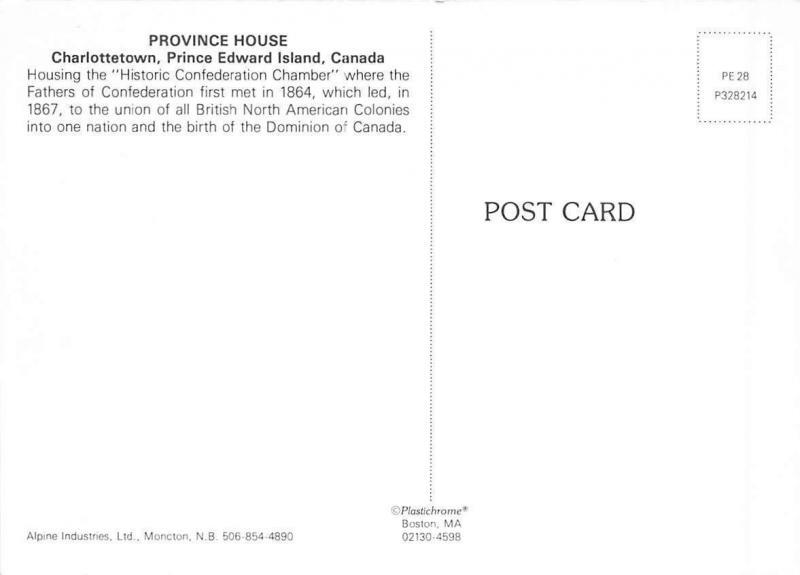 Canada Province House Charlottetown Prince Edward Island