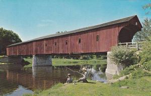 The West Montrose Covered Bridge,  Kitchener,  Ontario,  Canada,   40-60s
