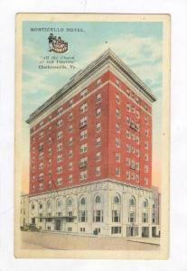 Monticello Hotel (Exterior),Charlottesville,VA,1900-10s